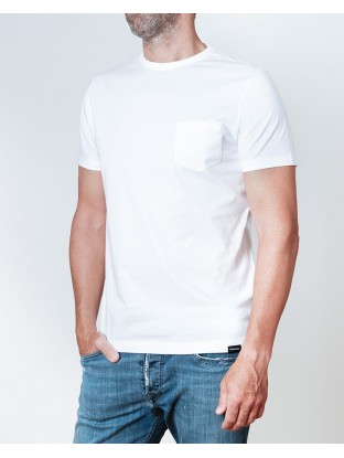 T-shirt Pocket - White
