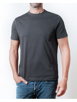 Camiseta Pocket - Antracita