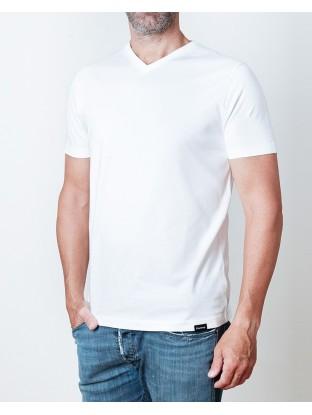Camiseta Original V - Blanca