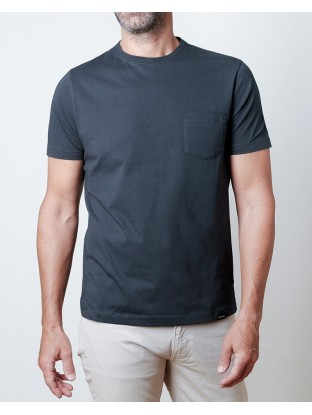 Tee-shirt Pocket - Bleu Navy