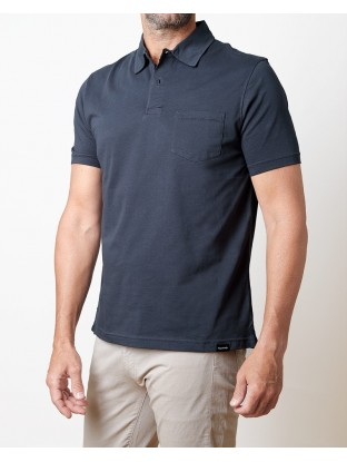 Polo Jersey - Blue Navy