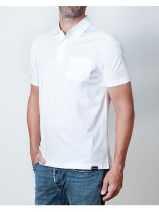 Polo Jersey - Blanco