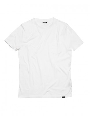 Camiseta Pocket - Blanca