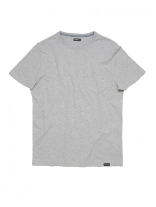 Camiseta Pocket - Gris