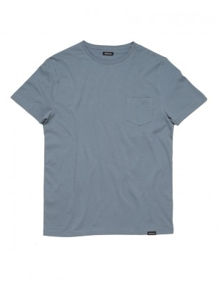 T-shirt Pocket - Blue Denim