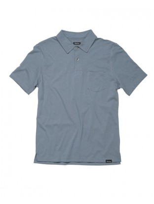 Polo Jersey - Blue Denim
