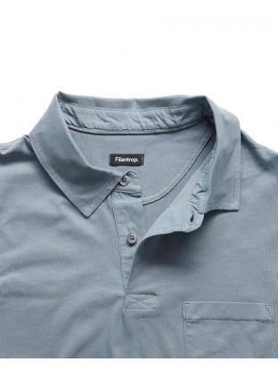 Polo Jersey - Blue Denim