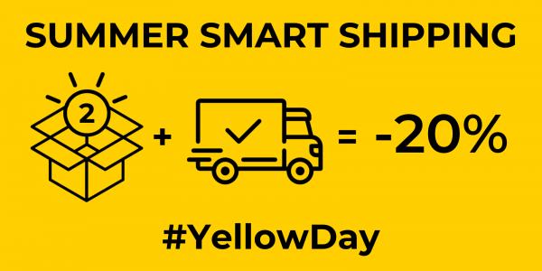¡Celebra el #YellowDay renovando tus básicos de verano con 'Smart Shipping' de Filantrop!