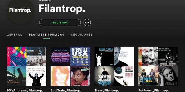 Filantrop, ¡ahora también en Spotify!